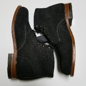 New Wolverine 1000 Mile Black Lace up Boot 9.5